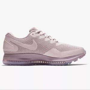 Nike Zoom All Out 2 dusty pink/gray sneakers 8